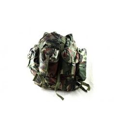 NATO woodland backpack, used but in very good condition. Made of high quality nylon.