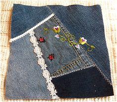Art Threads: Wednesday Sewing - Still Crazy with Denim