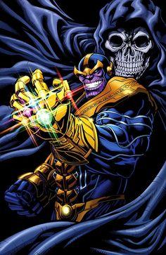 Thanos & Mistress Death