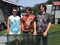 From the Bobby Paltauf Band: Miles Livolsi, Isaac Civitello, Gene Leone II ... rock on guys!  Photo courtesy of Jessica Correia