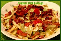 Sweet Tea and Cornbread: Southern Fried Cabbage!