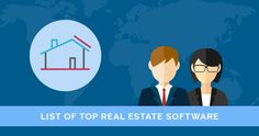 If you want to looking top real estate software? Here is a list of best real estate software for agents. You can also compare top software with features, reviews and more.