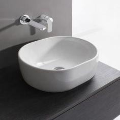 Bauhaus Pearl 450mm Countertop Basin