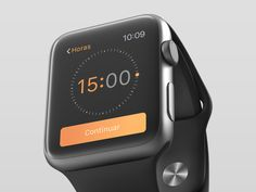 Apple Watch. Time Picker  by Rafael Santiago