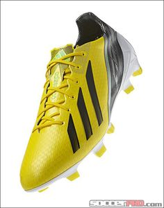 designer fashion 0474d 7b1ec adidas F50 adizero TRX FG Soccer Cleats - Vivid Yellow with Black... 188.99