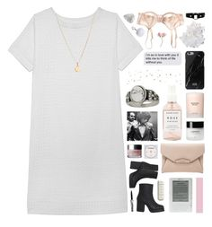 """""""someday we will die in your dreams ❁"""" by annamari-a ❤ liked on Polyvore featuring Olive + Oak, Bodas, Givenchy, McCoy Design, Monki, Native Union, Estée Lauder, Clinique, KEEP ME and Herbivore"""