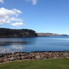 Hiking trip in Shieldaig, Scotland. Our cottage was overlooking this lake. So beautiful!