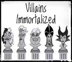 "@pinsbyJP on Instagram: ""Villains Immortalized presale begins tomorrow!!! The 5 piece set will be $100. #cruelladevil #hades #ursula #jafar #maleficent…"""