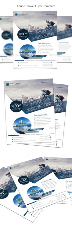Tour & Travel Flyer - Holidays Events