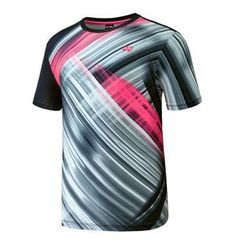 bd5983bdd92 Yonex F W Collection Men s Badminton Round T-Shirts Black Clothes NWT  73TS033M