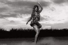 The desert rumba. | 47 Of Beyoncé's Absolute Best Dance Moves