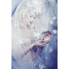 Ice Queen by Marlot Haagsma ❤ liked on Polyvore featuring backgrounds