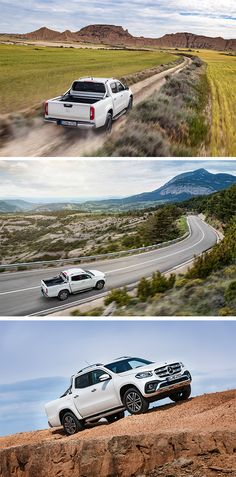 The Mercedes-Benz X-Class is uniquely versatile in terms of its area of application – it can be used as a rugged, all-terrain pickup but also as a vehicle for urban lifestyles and families.