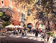 David Taylor,  old village of Monterosso Italy