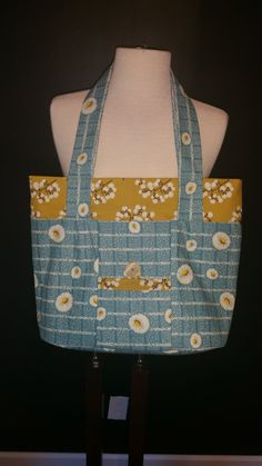 Large Purse / Tote with Dandelion Pattern by KidSistersCreations