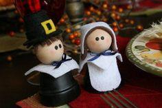 Tutorials: Clay Pot Pilgrim Girl