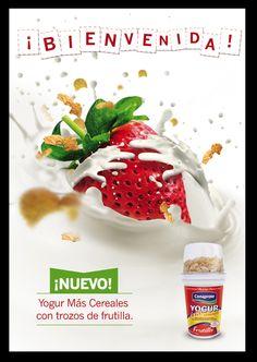 Aviso de prensa. Conaprole Yogur Más Frutilla
