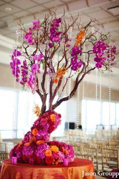 indian wedding floral decor venue ceremony http://maharaniweddings.com/gallery/photo/5610