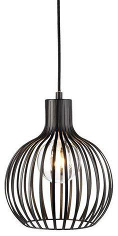 Hanglamp FERDUS Ø23xH28cm incl.LED lamp | JYSK - INDUSTRIAL NORTH woontrend #LampSlaapkamer