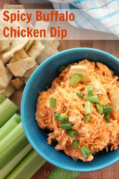Spicy Buffalo Chicken Dip Recipe