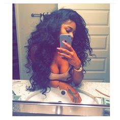 Her Imports Brazilian Hair Weave Put To The Test! featuring polyvore