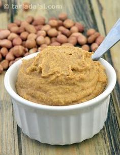 Here is a quick and easy Spicy Peanut Sauce, made with roasted peanuts, which can be used innovatively in the preparation of, or to serve along with Indian or Oriental starters.
