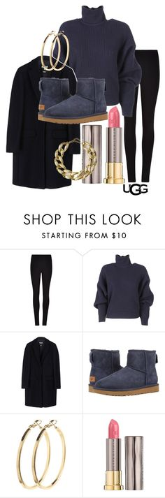 """The Icon Perfected: UGG Classic II Contest Entry"" by matilda-gladis ❤ liked on Polyvore featuring Winser London, Balenciaga, MSGM, UGG, Pieces, Urban Decay and Kenneth Jay Lane"