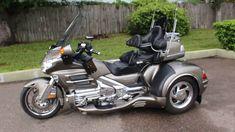 2008 honda goldwing california sidecar trike fully loaded p. Goldwing Trike, Trike Motorcycle, Honda Bikes, Buy Bike, Pinstriping, Sidecar, Animals Beautiful, California, Mopeds