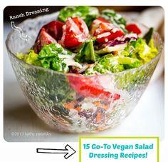 (via 15 Vegan Salad Dressing Recipes!)