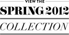 Krystalre 2012 Spring Collection.