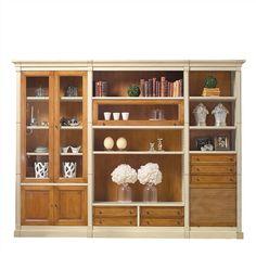 Librería modular clásica de salón Trieste 2 Cómpralo en www.betty-co.com