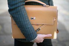 Hermes Kelly depeche briefcase