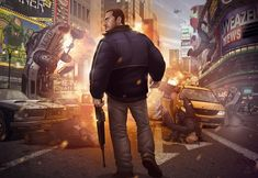 Grand Theft Auto IV Finale by patrick brown