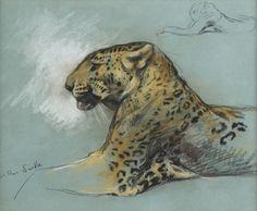 Arthur Wardle - A Leopard.