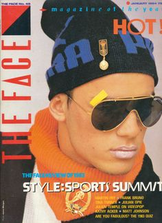 Nick Kamen styled by Ray Petri. The Face Magazine, V Magazine, Iconic Movies, Old Models, Sport, Fashion Photography, Mens Sunglasses, Guys, My Style