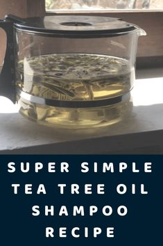 Learn how to make homemade laundry detergent with this simple and natural tutorial. Natural, DIY laundry detergent is really inexpensive, and healthier for your family than most conventional options. Tea Tree Oil Soap, Tea Tree Oil Shampoo, Homemade Tea, Homemade Beauty, Diy Beauty, Diy Hair Shampoo, Hair Care Recipes, Homemade Laundry Detergent, How To Make Tea