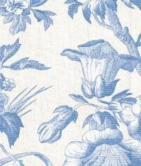 Clara Floral Rod Pocket Curtains