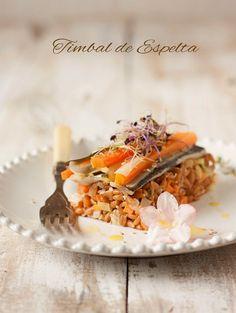 Sweet+&+Sour:+TIMBAL+DE+ESPELTA+CON+SARDINAS+MARINADAS+EN+CÍTRIC...