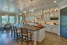 Kitchen Dining, Kitchen Decor, Kitchen Stuff, Kitchen Ideas, Grand Homes, Model Homes, Home Renovation, Fixer Upper, My House