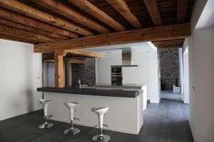 SANTOS kitchen. Casa Alejandra : proyecto de cocina modelo Line de Ceisa Segovia