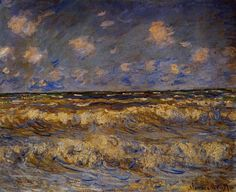 Rough Sea by Claude Monet, Oil painting reproductions
