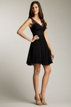 Frock! by Tracy Reese - Shelly Lace Sleeveless Fit & Flare Dress