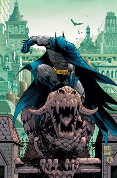 Batman on a Ledge