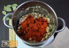 SZÉKELYKÁPOSZTA RECEPT VIDEÓVAL - székelykáposzta készítése Sauerkraut, Cauliflower, Grains, Rice, Vegetables, Recipes, Food, Goulash Recipes, Goulash Soup