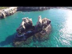 Salento TORRE DELL'ORSO☑ le 2  SORELLE SPIAGGIA E MARE CARAIBI DEL SALENTO - YouTube
