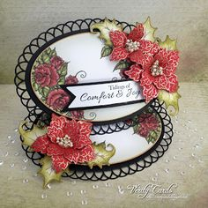 Card made using Heartfelt Creations All Glammed Up Collection. Made by Liz Walker