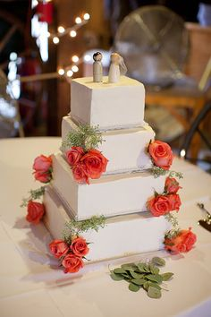 Photo from Marko & Lindsay collection by Alissa Ferullo Photography Cake by Rhonda's Cakes