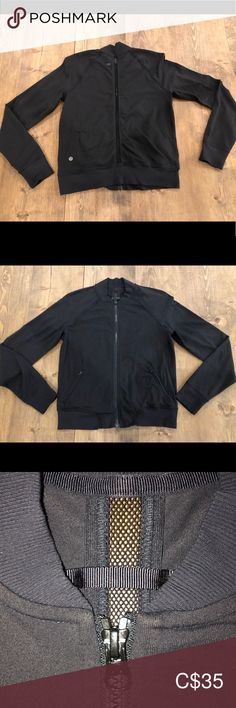 Lululemon zip up In used condition. Mesh panel down the back for sweat wicking. No pilling or stains noted. Size 8 how ever I'd say it fits more like a lululemon athletica Tops Sweatshirts & Hoodies Photo Cat, Mesh Panel, Plus Fashion, Fashion Tips, Fashion Trends, Hoodies, Sweatshirts, Lululemon Athletica, Zip Ups