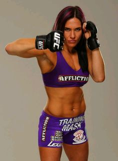 The beautiful Cat Zingano. She fought a hell of a fight last week. Love her background story too. Looking forward to seeing her on the Ultimate Fighter