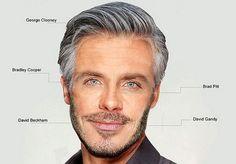 Pour obtenir un visage parfait, mélanger ceux de Brad Pitt et George Clooney semble le choix idéal. Et si on y ajoute la barbe de David Beckham et le regard bleu de Bradley Cooper, on atteint carrément la perfection ! Découvrez l'étonnante étude menée par une clinique de greffe capillaire anglaise. ©